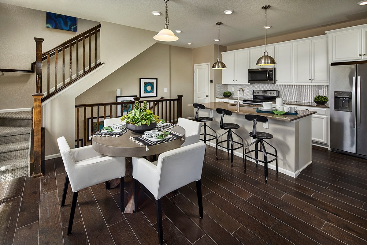 New Homes in Castle Rock, CO - Meadows Villas Willow Kitchen