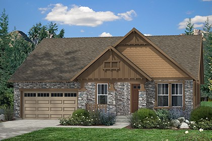 New Homes in Thornton, CO - Elevation C