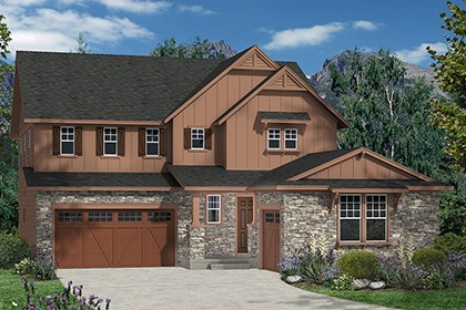 New Homes in Thornton, CO - Marche Elevation A