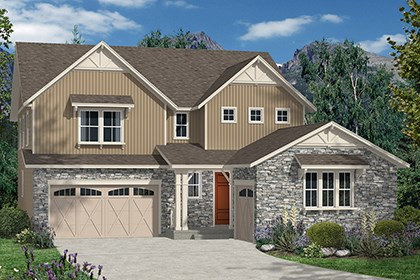 New Homes in Thornton, CO - Marche Elevation B