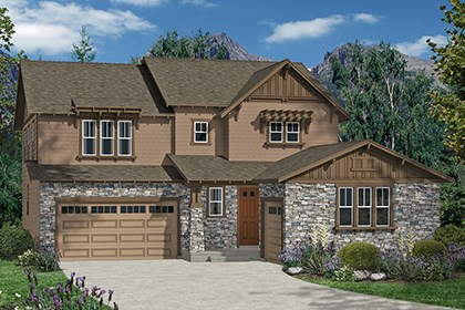 New Homes in Thornton, CO - Marche Elevation C