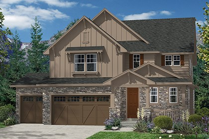 New Homes in Thornton, CO - Moreto Elevation A