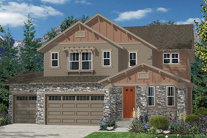 New Homes in Thornton, CO - Moreto Elevation C