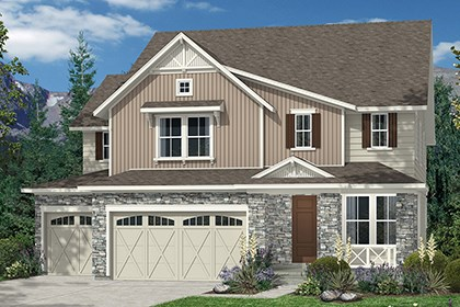 New Homes in Thornton, CO - Elevation B