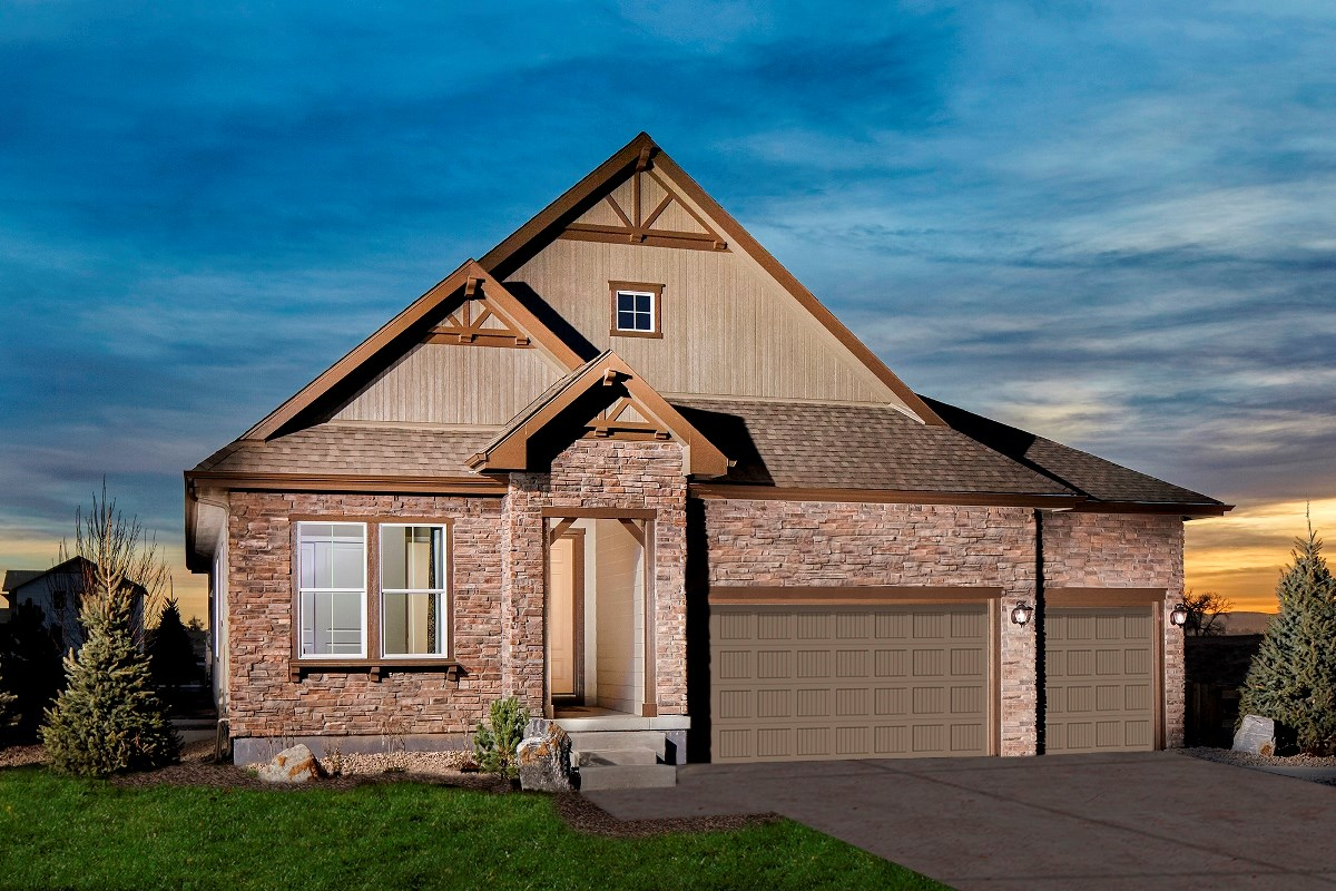 New Homes in Thornton, CO - The Estates at Trailside Avana 2293 Modeled