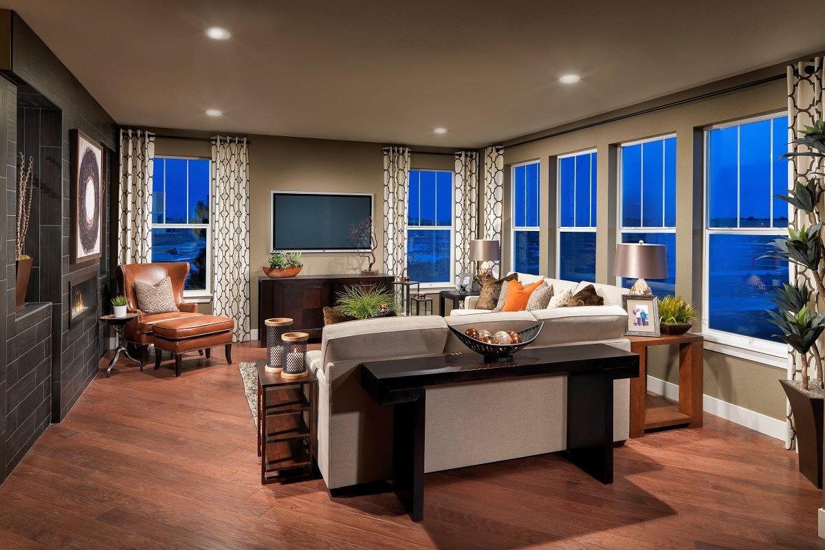 New Homes in Thornton, CO - The Estates at Trailside Moscato 3114 Family Room
