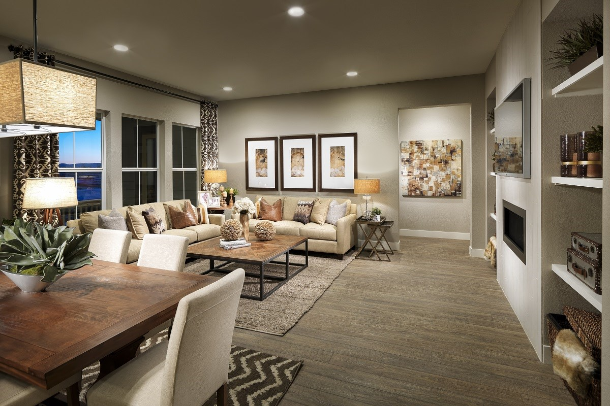 New Homes in Thornton, CO - The Estates at Trailside Avana 2293 Great Room