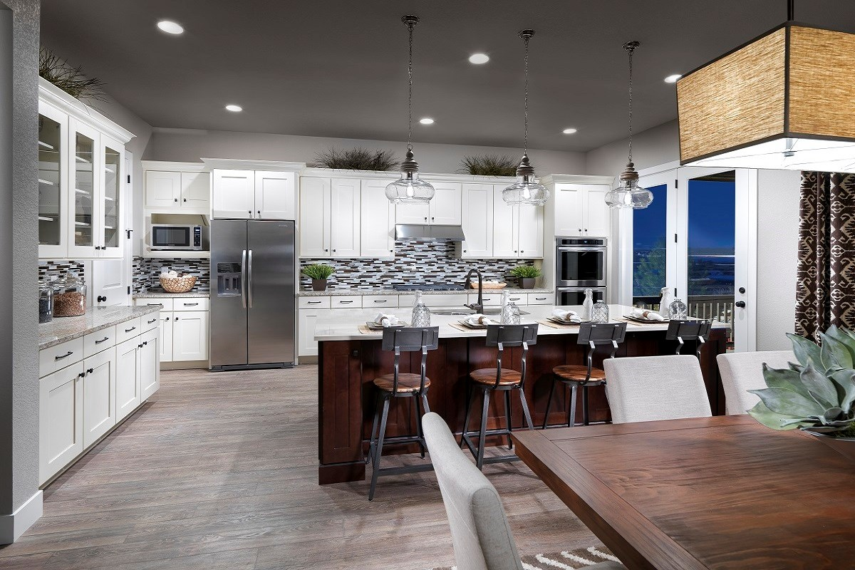 New Homes in Thornton, CO - The Estates at Trailside Avana 2293 Gourmet Kitchen and Dining Room