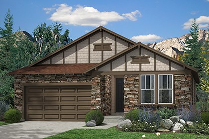 New Homes in Thornton, CO - Hawthorn Elevation C