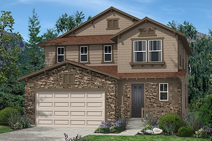 New Homes in Thornton, CO - Kittredge Elevation C
