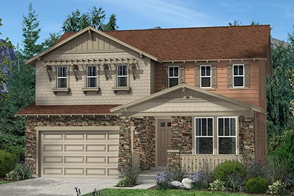 New Homes in Thornton, CO - Lafayette Elevation C