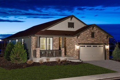 New Homes in Thornton, CO - Chaucer Model Home Elevation C