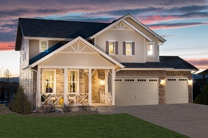 New Homes in Thornton, CO - Lafayette Model Home Elevation B