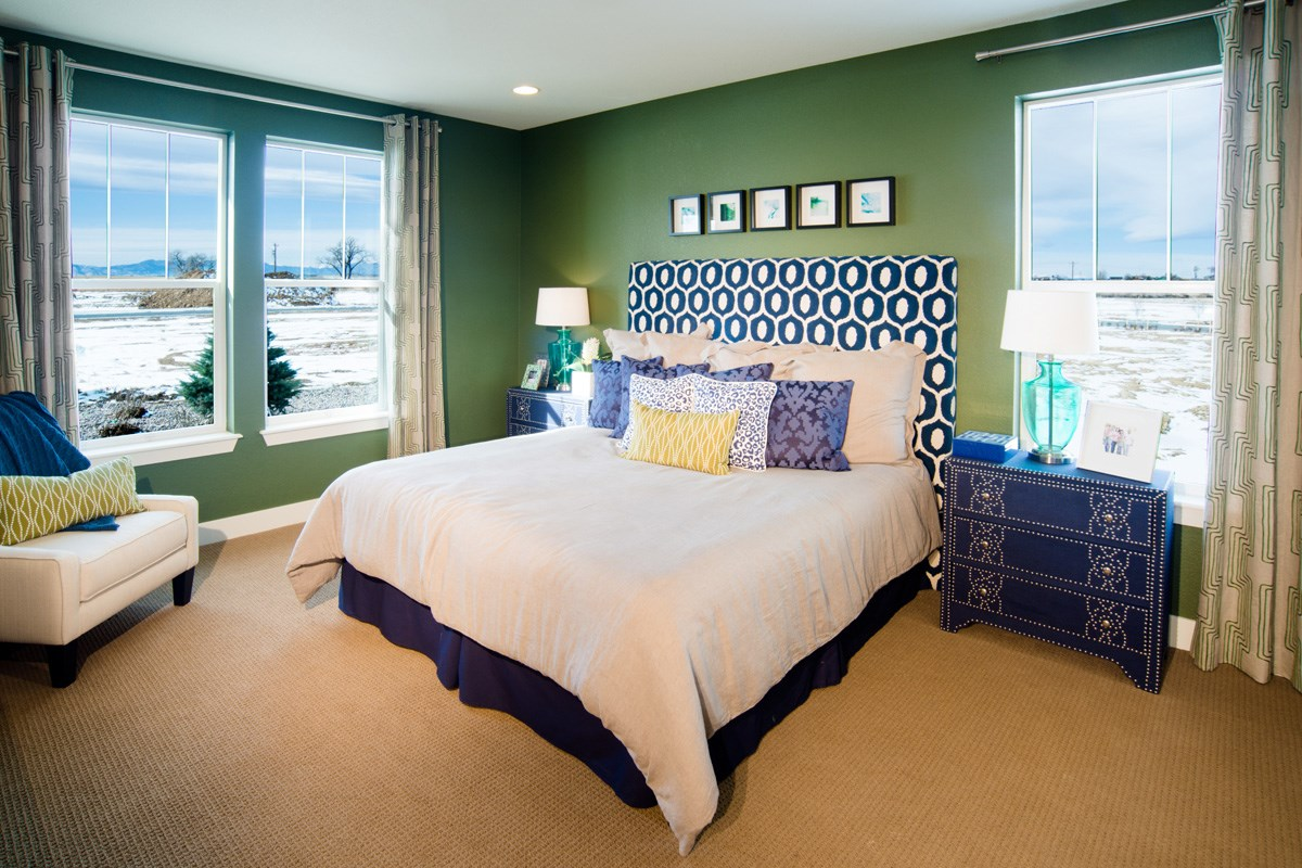 New Homes in Thornton, CO - The Reserve at Trailside Chaucer Master Bedroom