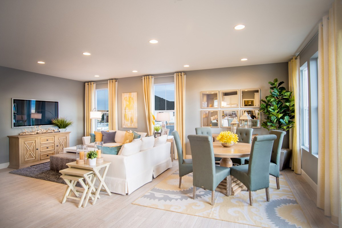 New Homes in Thornton, CO - The Reserve at Trailside Lafayette Great Room