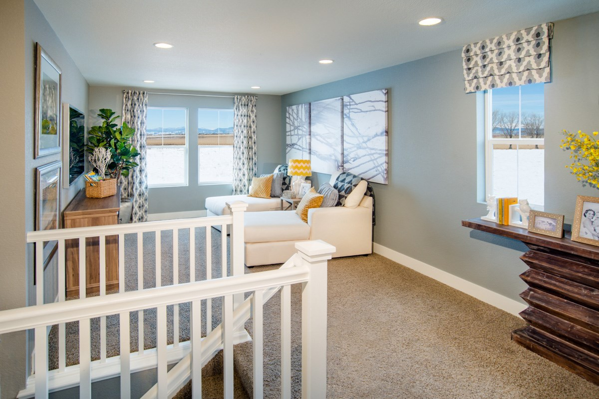 New Homes in Thornton, CO - The Reserve at Trailside Lafayette Loft