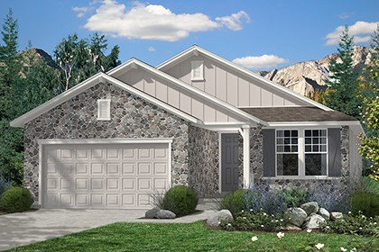New Homes in Thornton, CO - Chaucer Elevation A