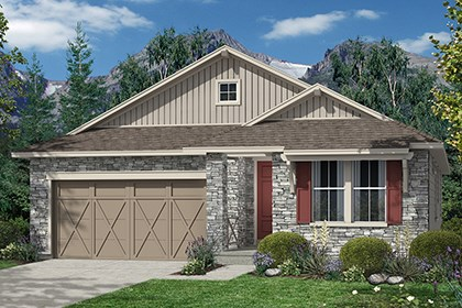 New Homes in Thornton, CO - Greenland Elevation B