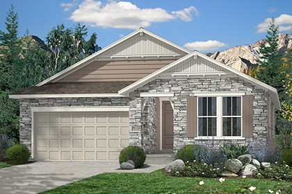 New Homes in Thornton, CO - Hawthorn Elevation B