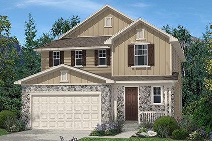 New Homes in Thornton, CO - Kittredge Elevation A