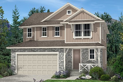 New Homes in Thornton, CO - Kittredge Elevation B