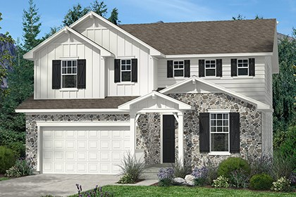 New Homes in Thornton, CO - Lafayette Elevation A