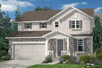 New Homes in Thornton, CO - Elevation A