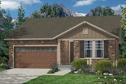New Homes in Thornton, CO - Aspen Elevation A