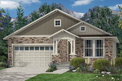 New Homes in Thornton, CO - Aspen Elevation B