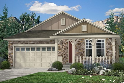 New Homes in Thornton, CO - Birch Elevation A