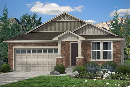 New Homes in Thornton, CO - Birch Elevation B