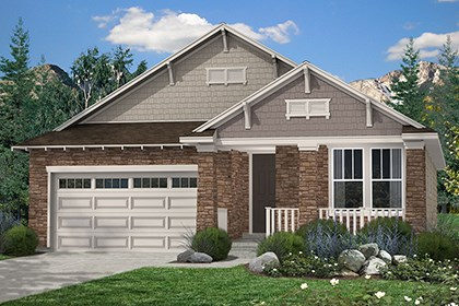 New Homes in Thornton, CO - Birch Elevation C