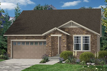 New Homes in Thornton, CO - Crestview Elevation A