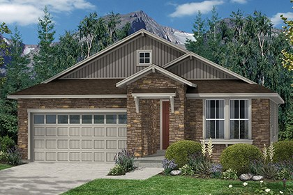 New Homes in Thornton, CO - Crestview Elevation B