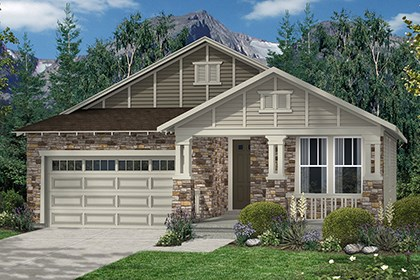 New Homes in Thornton, CO - Crestview Elevation C