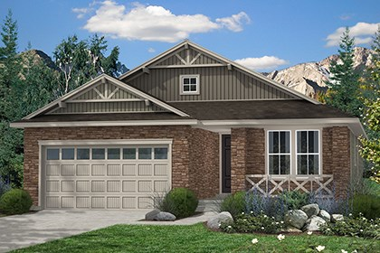 New Homes in Thornton, CO - Chaucer Elevation B