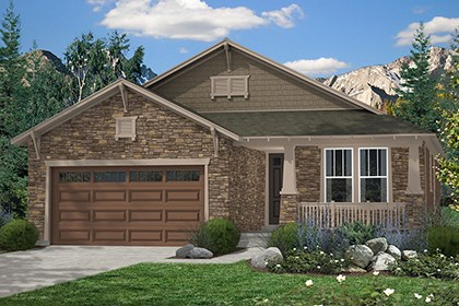New Homes in Thornton, CO - Chaucer Elevation C
