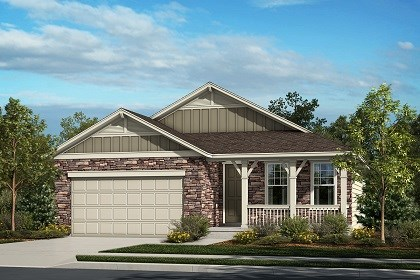 New Homes in Thornton, CO - The Boxelder - Elevation A
