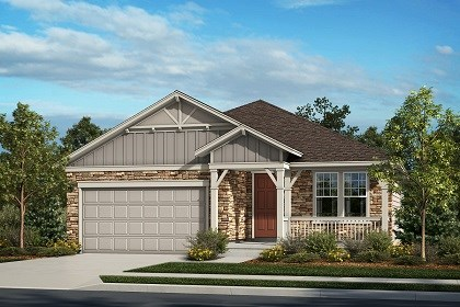 New Homes in Thornton, CO - The Cottonwood - Elevation A