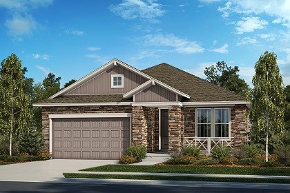 New Homes in Thornton, CO - The Cottonwood - Elevation B