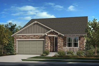 New Homes in Thornton, CO - The Cottonwood - Elevation C