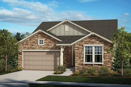 New Homes in Thornton, CO - The Juniper - Elevation A