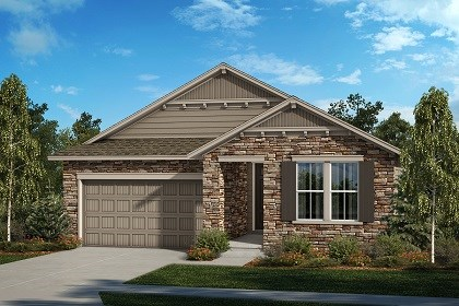 New Homes in Thornton, CO - The Juniper - Elevation B