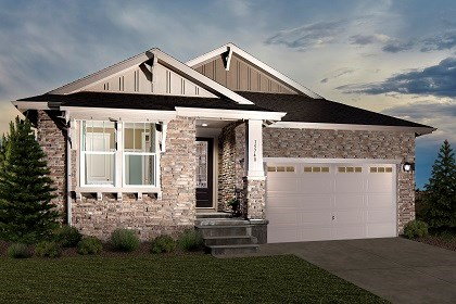 New Homes in Thornton, CO - Greenland Model Home Elevation C