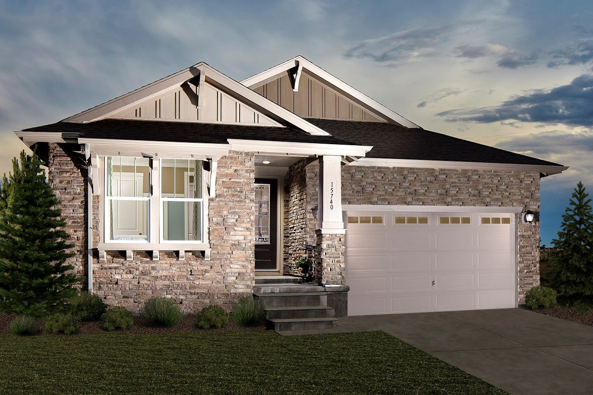 New Homes in Thornton, CO - Trailside Patio Homes Greenland Model Home