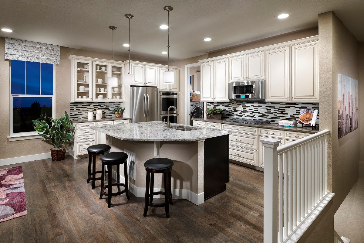 New Homes in Thornton, CO - Trailside Patio Homes Greenland Gourmet Kitchen