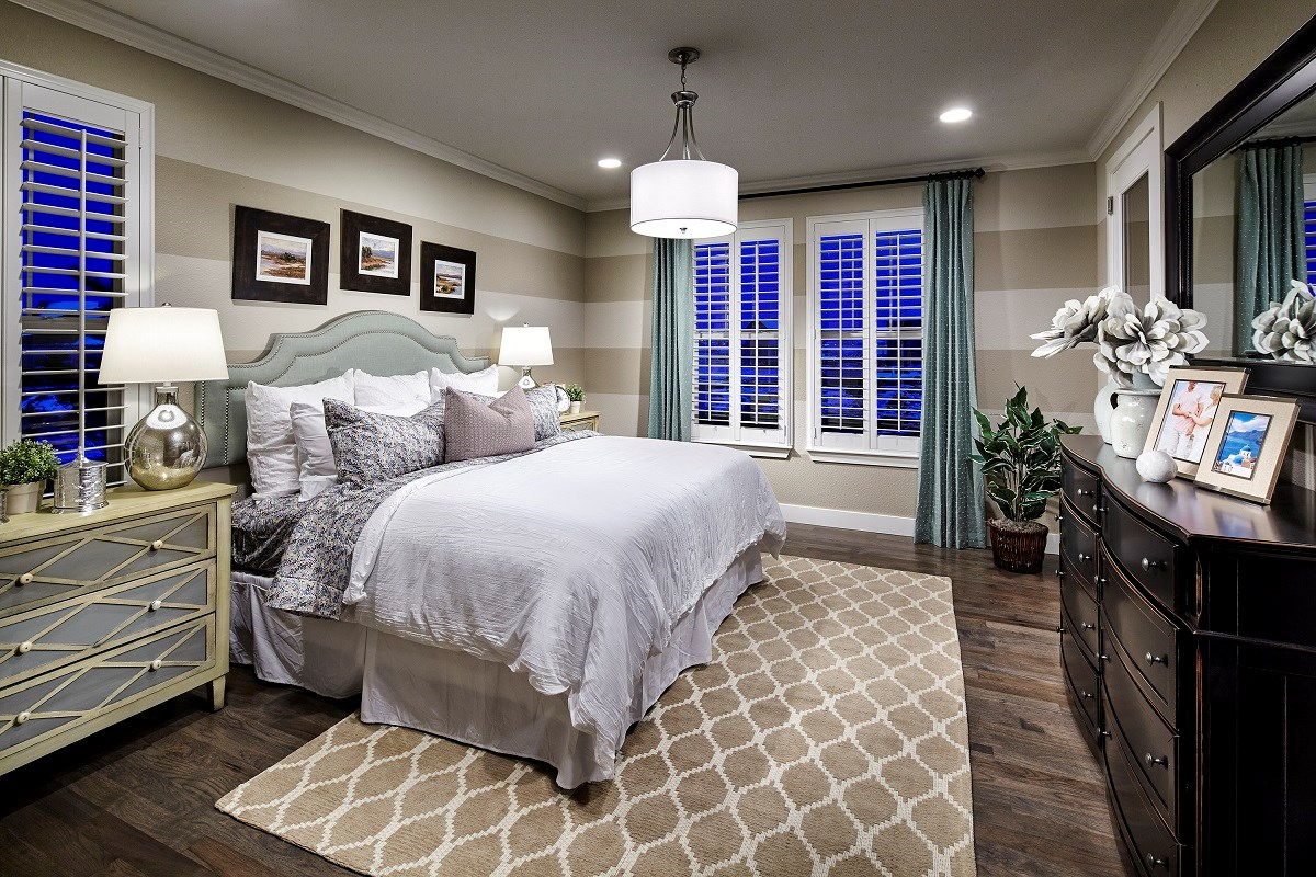 New Homes in Thornton, CO - Trailside Patio Homes Greenland Master Bedroom