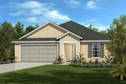 New Homes in Palm Coast, FL - The Hayden Modeled