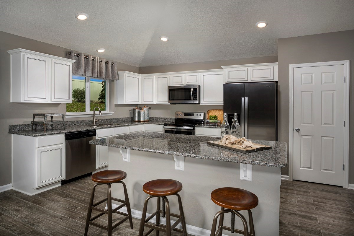 New Homes in Jacksonville, FL - Abbot Cove The Sullivan Kitchen