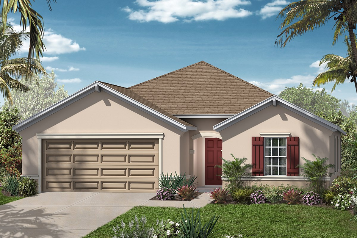 New Homes in Clay County, FL - Angora Bay The Hayden